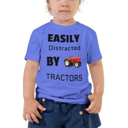 kids tractor shirt, red tractor shi..